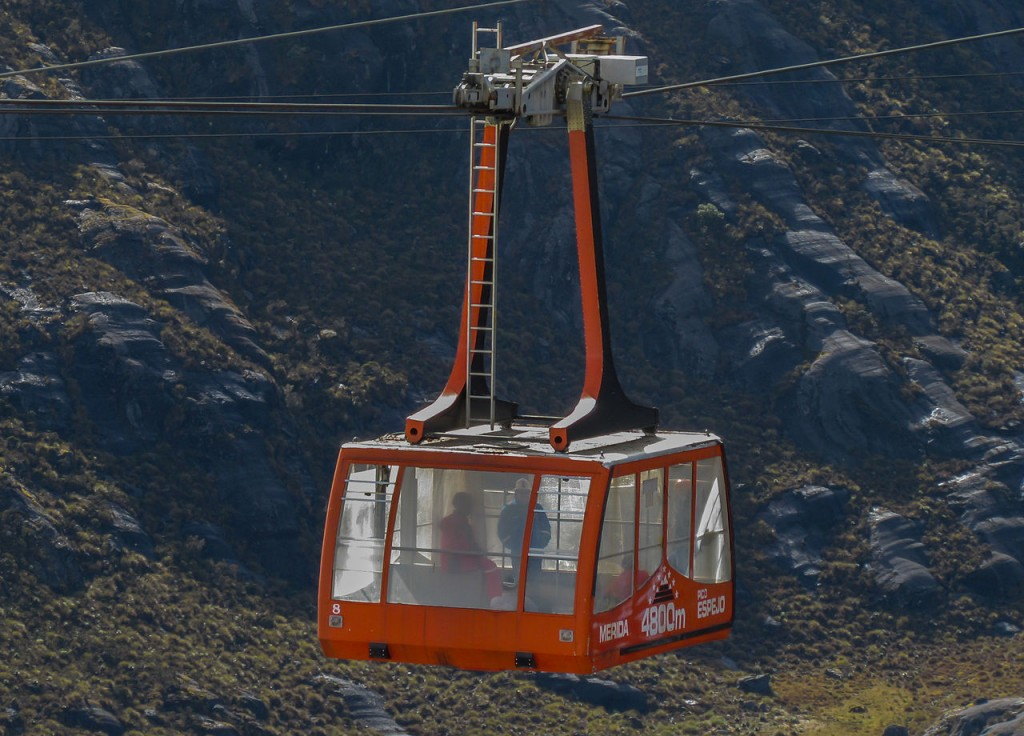 The Merida cable car